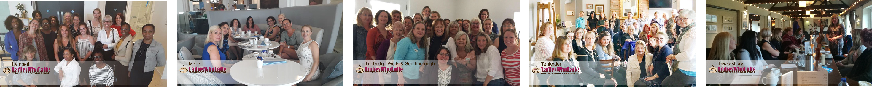 some of our Ladies Who Latte Groups